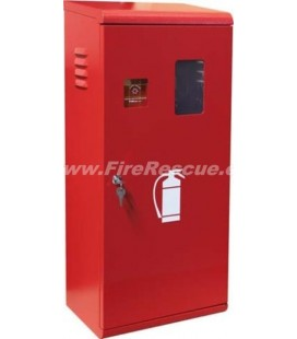 FIRE EXTINGUISHER SMART CABINET 9-12 KG/L WITH KEY