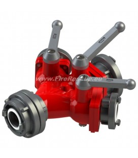 TRIPLE WATER DISTRIBUTER B/CBC WITH BALL VALVES