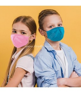 PROTECTIVE MASK WITH FILTER FOR CHILDREN - PINK
